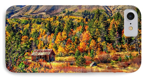 Hope Valley Fall Color IPhone Case by Scott McGuire