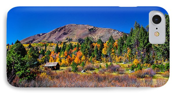 Hope Valley Rustic Barn Fall Color IPhone Case by Scott McGuire