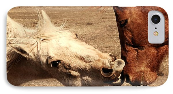 Horse Play Phone Case by Steven Milner