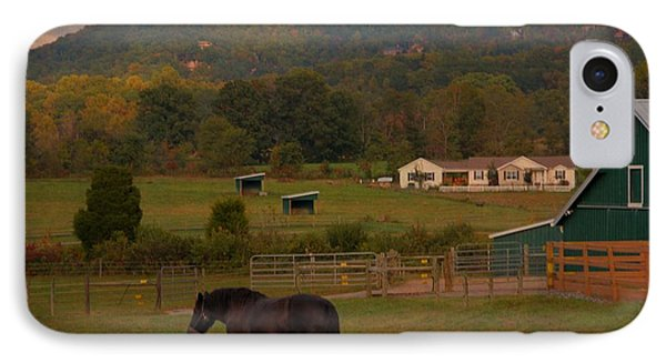 Horseback Riding In Gatlinburg IPhone Case by Dan Sproul