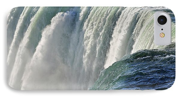 IPhone Case featuring the photograph Horseshoe Falls by Rodney Campbell