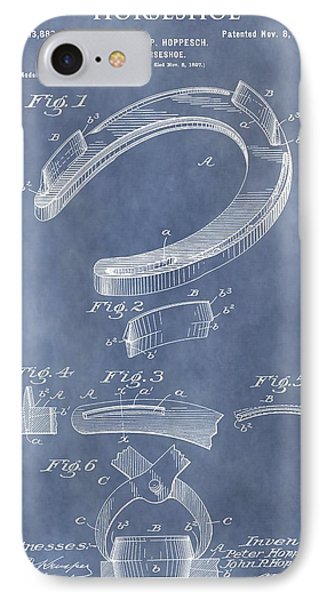 Horseshoe Patent IPhone Case by Dan Sproul