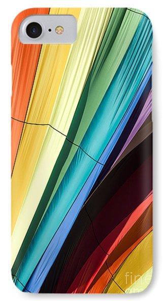 Hot Air Balloon Rainbow IPhone Case by Edward Fielding