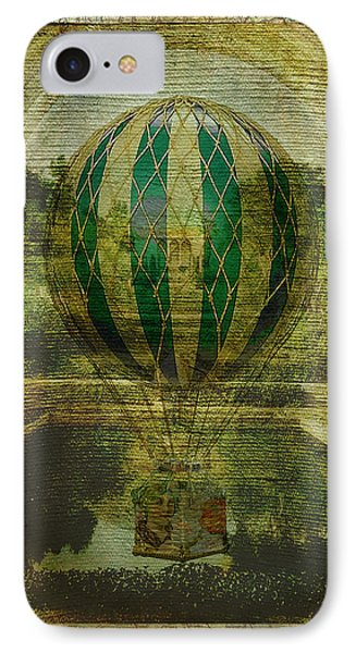 Hot Air Balloon Voyage Phone Case by Sarah Vernon