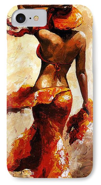 Hot Breeze  IPhone Case by Emerico Imre Toth