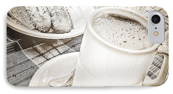 Hot Chocolate In Cold Ushuaia Phone Case by Julie Palencia