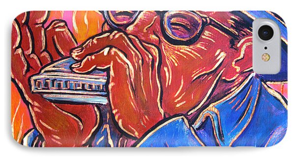 Hot Harp Phone Case by Robert Ponzio