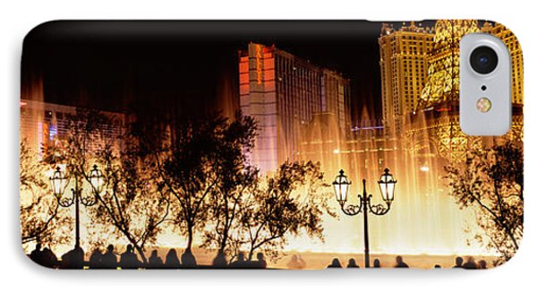 Hotels In A City Lit Up At Night, The IPhone Case by Panoramic Images