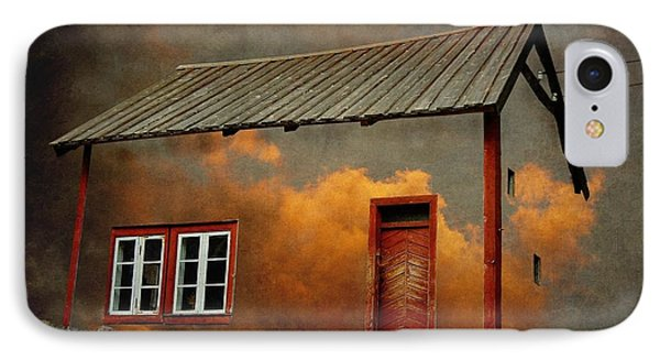 House In The Clouds IPhone 7 Case by Sonya Kanelstrand