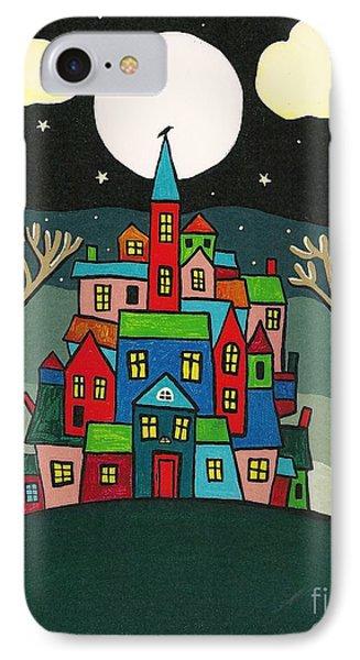 House Of The Crow Phone Case by Margaryta Yermolayeva