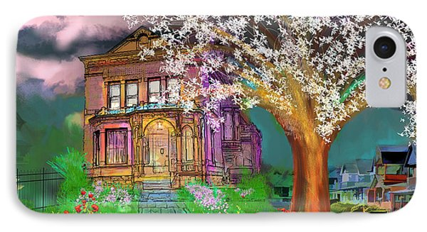 House On Milbert Street Phone Case by Gerry Robins