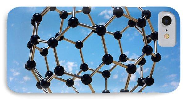Hovering Molecule IPhone Case by Carlos Caetano