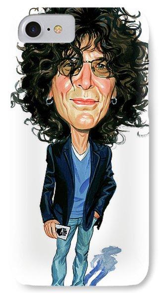 Howard Stern IPhone Case by Art