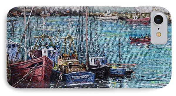 Howth Harbour  Dublin IPhone Case by John  Nolan