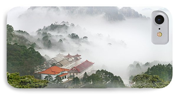 Huangshan National Park IPhone Case by King Wu