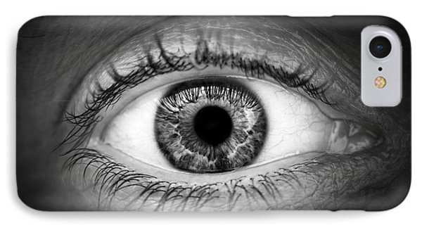 Human Eye Phone Case by Elena Elisseeva