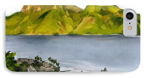 Humid Day In Pago Pago Phone Case by Douglas Simonson