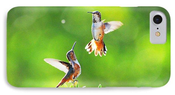 Hummingbird Dance  Phone Case by Lynn Bauer