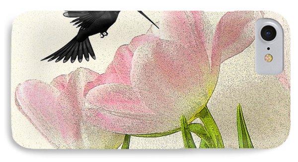 Hummingbird Phone Case by Sharon Lisa Clarke
