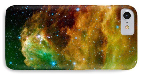 Hunter Constellation IPhone Case by Sebastian Musial