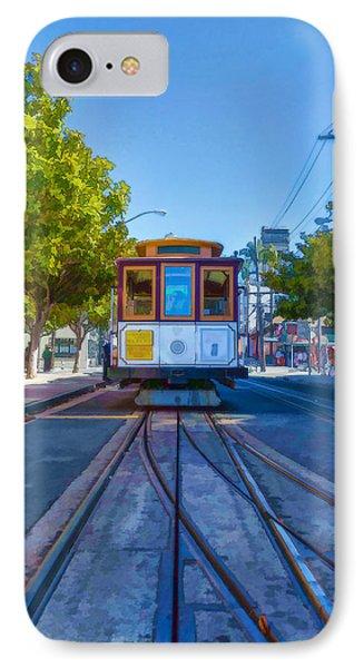Hyde Street Trolley Phone Case by Scott Campbell