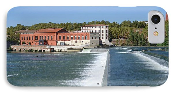 Hydroelectric Barrage IPhone Case by Chris Hellier