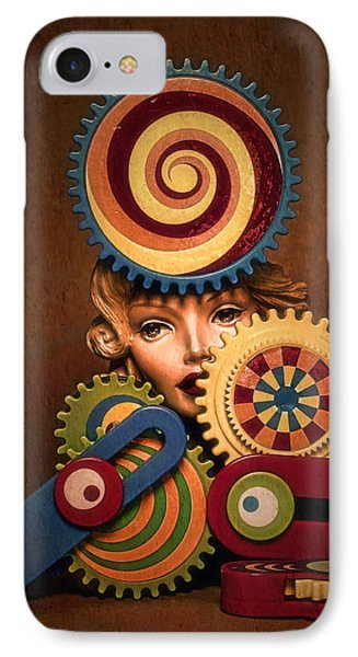 Hypnotic Woman 1 IPhone Case by Jeff  Gettis