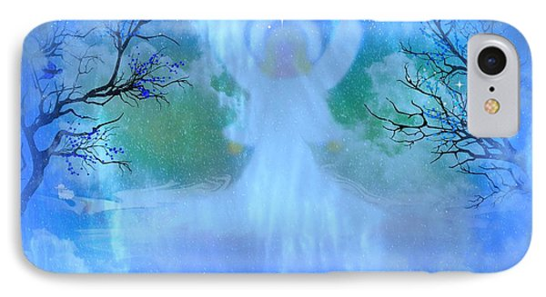 I Am The Angel Of Peace I Am Phone Case by Sherri  Of Palm Springs