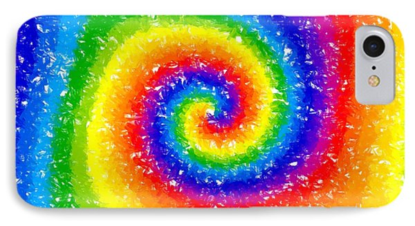 I Can See A Rainbow Phone Case by Chris Butler