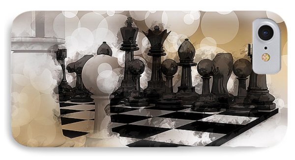 I Dream Of Chess ... IPhone Case by Daniel Hagerman