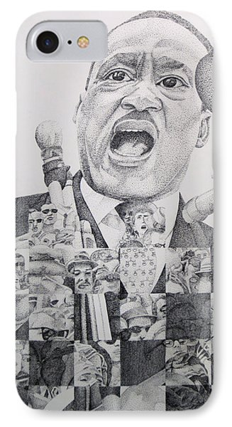 I Have A Dream Martin Luther King Phone Case by Joshua Morton