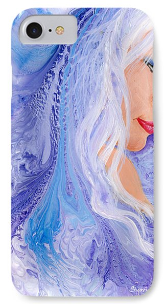 Ice Angel Phone Case by Sherry Shipley
