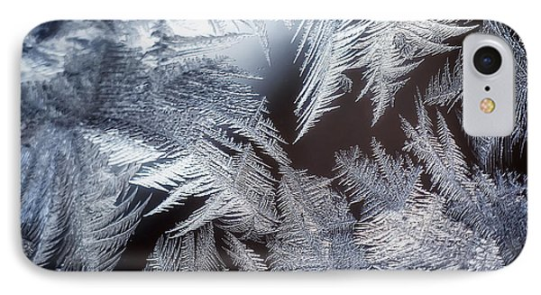 Ice Crystals IPhone Case by Scott Norris