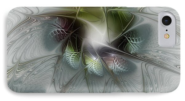 Ice Flower IPhone Case by Karin Kuhlmann