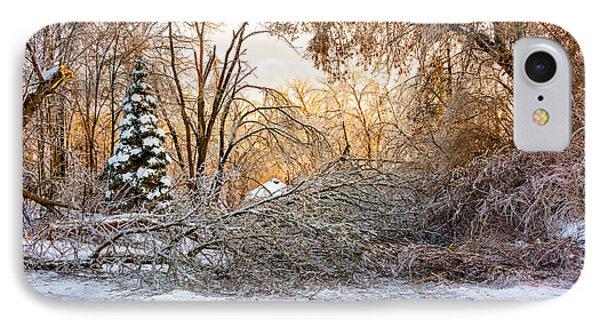 Ice Storm...day 2 Phone Case by Steve Harrington