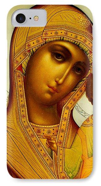 Icon Of The Virgin Kazanskaya IPhone Case by Dmitrii Smirnov