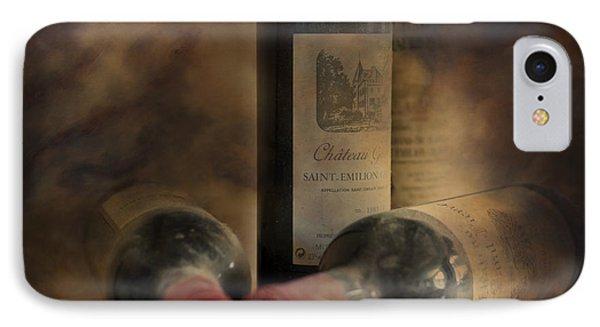 In A Corner Of A Wine Cellar IPhone Case by Georgia Fowler