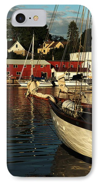 In Harbor IPhone Case by Karol Livote