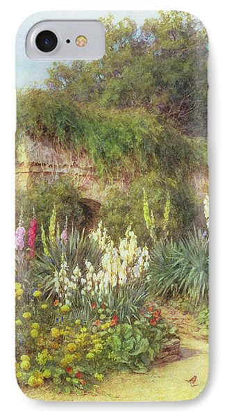 In Munstead Wood Garden IPhone Case by Helen Allingham