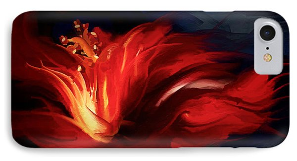 In Red IPhone Case by Shanina Conway