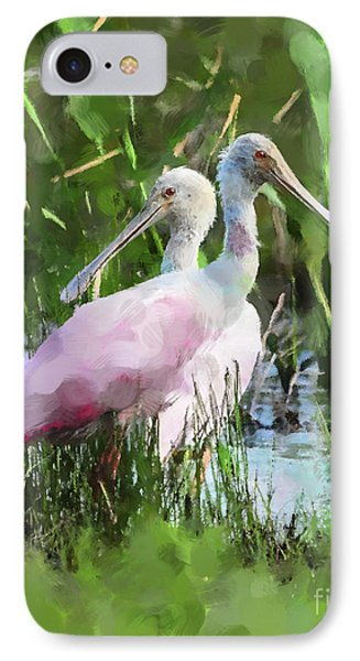 In The Bayou #2 IPhone 7 Case by Betty LaRue