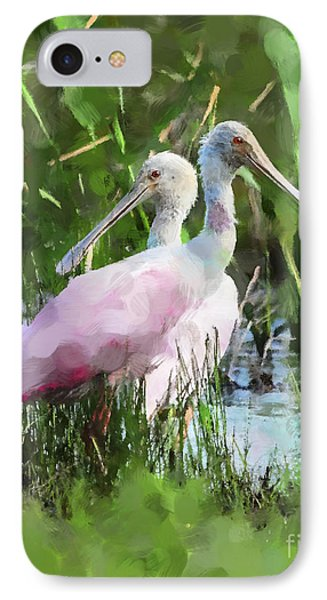In The Bayou #2 IPhone Case by Betty LaRue