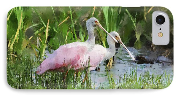 In The Bayou #3 IPhone 7 Case by Betty LaRue