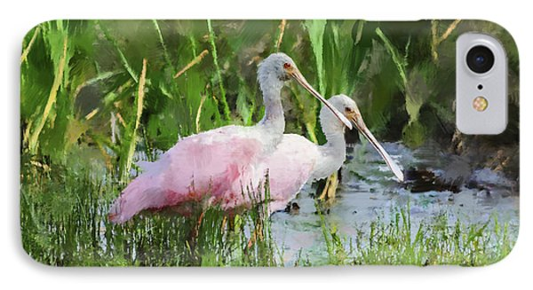 In The Bayou #3 IPhone Case by Betty LaRue