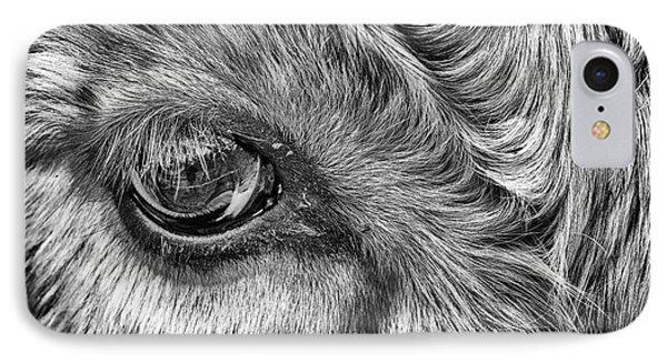 In The Eye IPhone Case by John Farnan