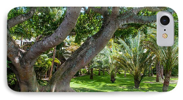 In The Garden. Mauritius Phone Case by Jenny Rainbow