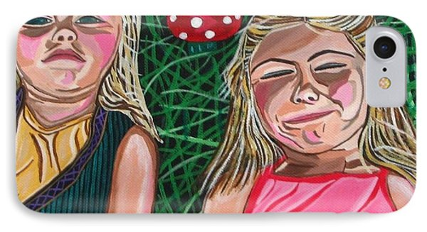 In The Garden Phone Case by Sandra Marie Adams