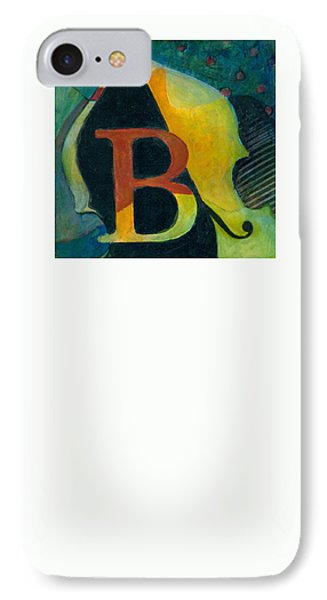 In The Key Of B IPhone Case by Susanne Clark