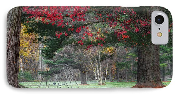 In The Park IPhone Case by Bill Wakeley