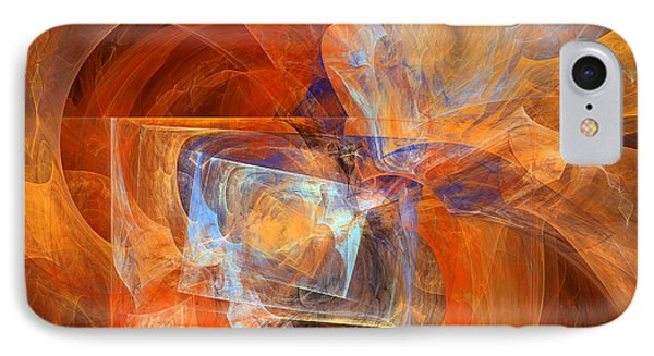 Incendiary Ammunition Abstract IPhone Case by Georgiana Romanovna
